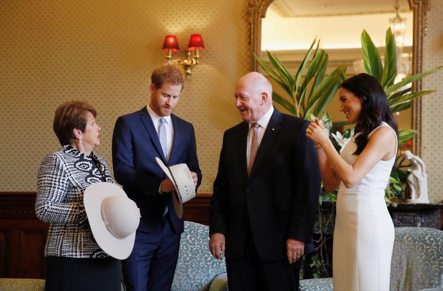 Meghan Et Harry, Première Journée En Australie ( 3