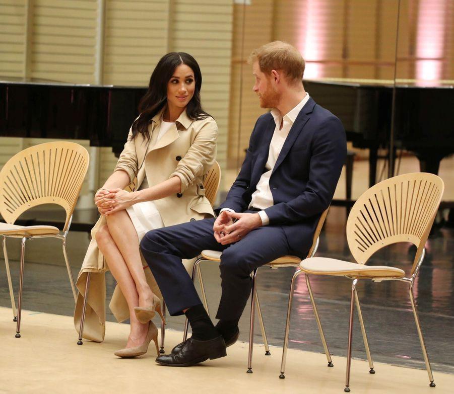Meghan Et Harry, Première Journée En Australie ( 30