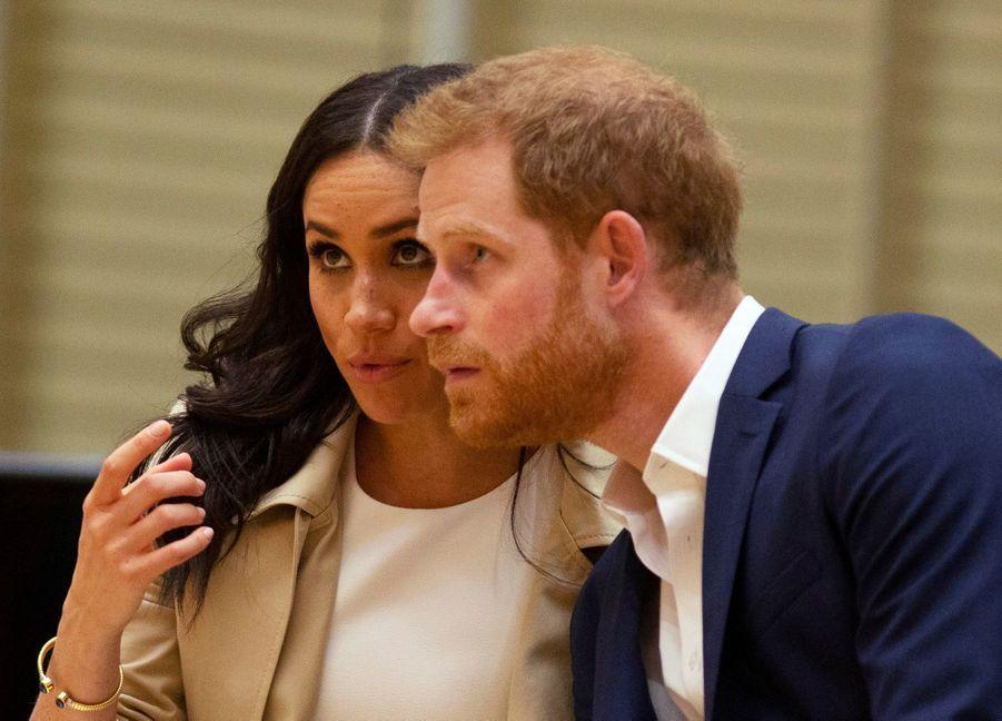 Meghan Et Harry, Première Journée En Australie ( 32
