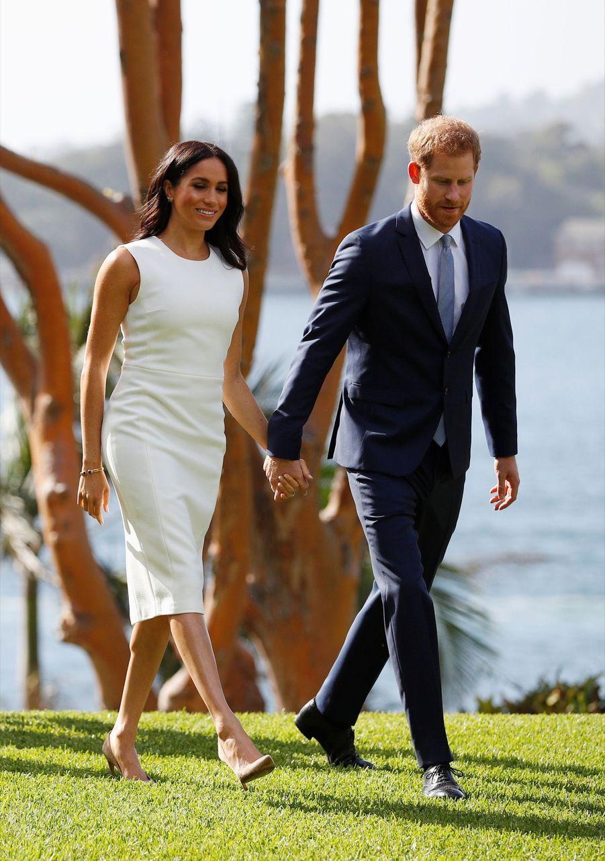 Meghan Et Harry, Première Journée En Australie ( 4