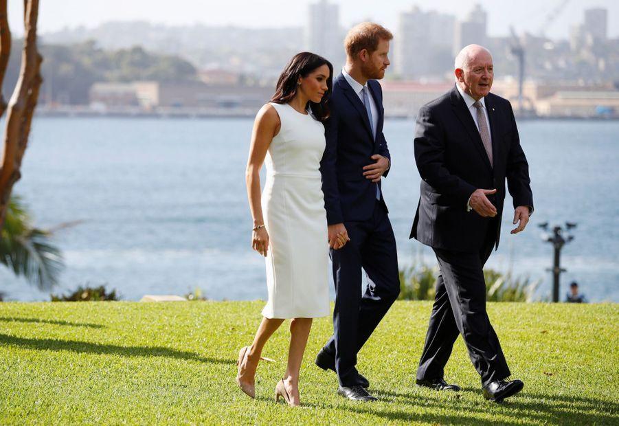 Meghan Et Harry, Première Journée En Australie ( 6