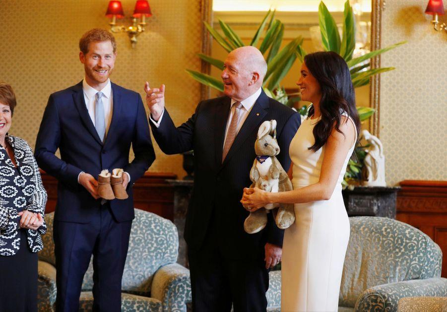 Meghan Et Harry, Première Journée En Australie ( 8