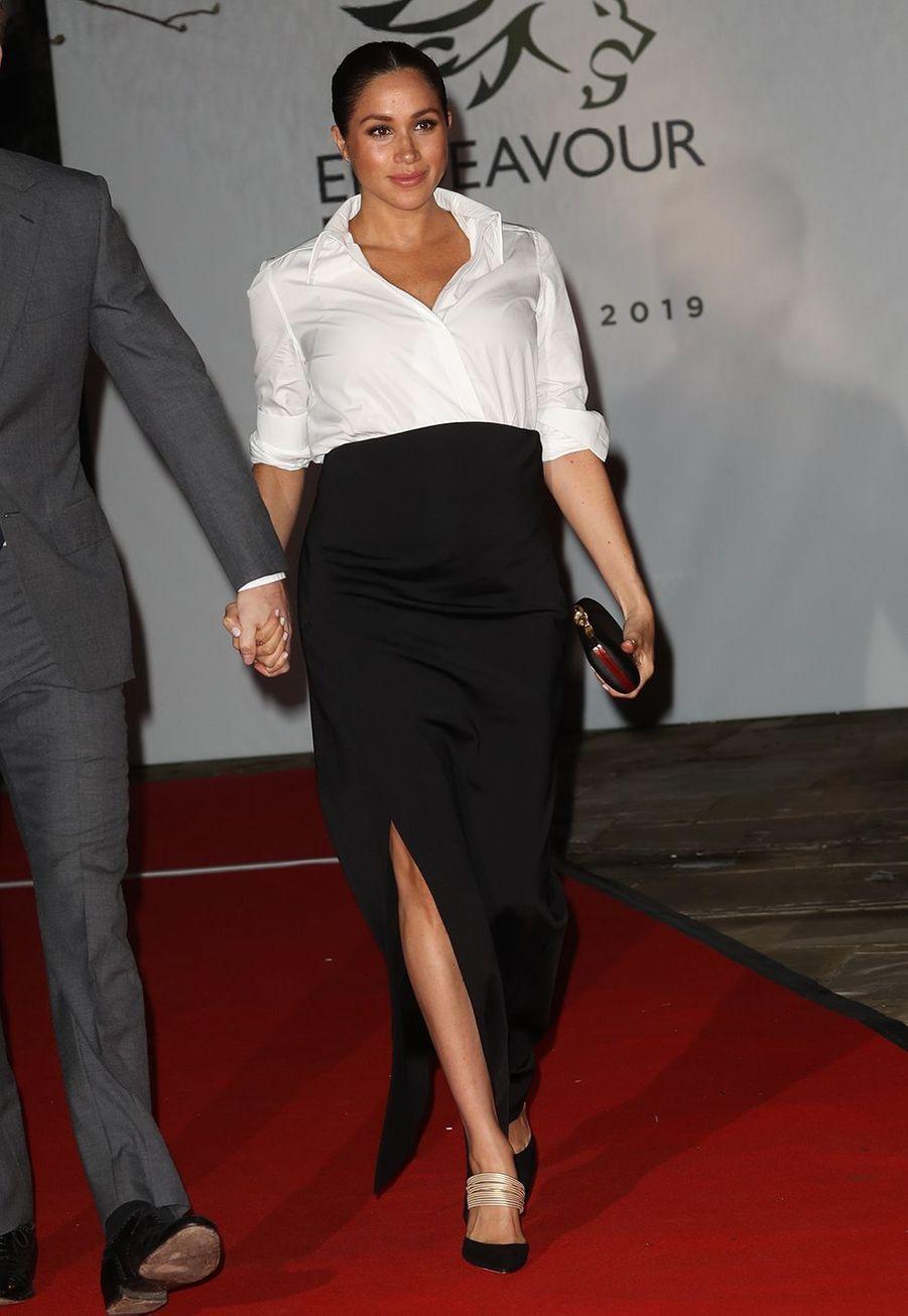 Le duc et la duchesse de Sussex lors de la cérémonie desEndeavour Fund Awards, le 7 février 2019, à Londres.