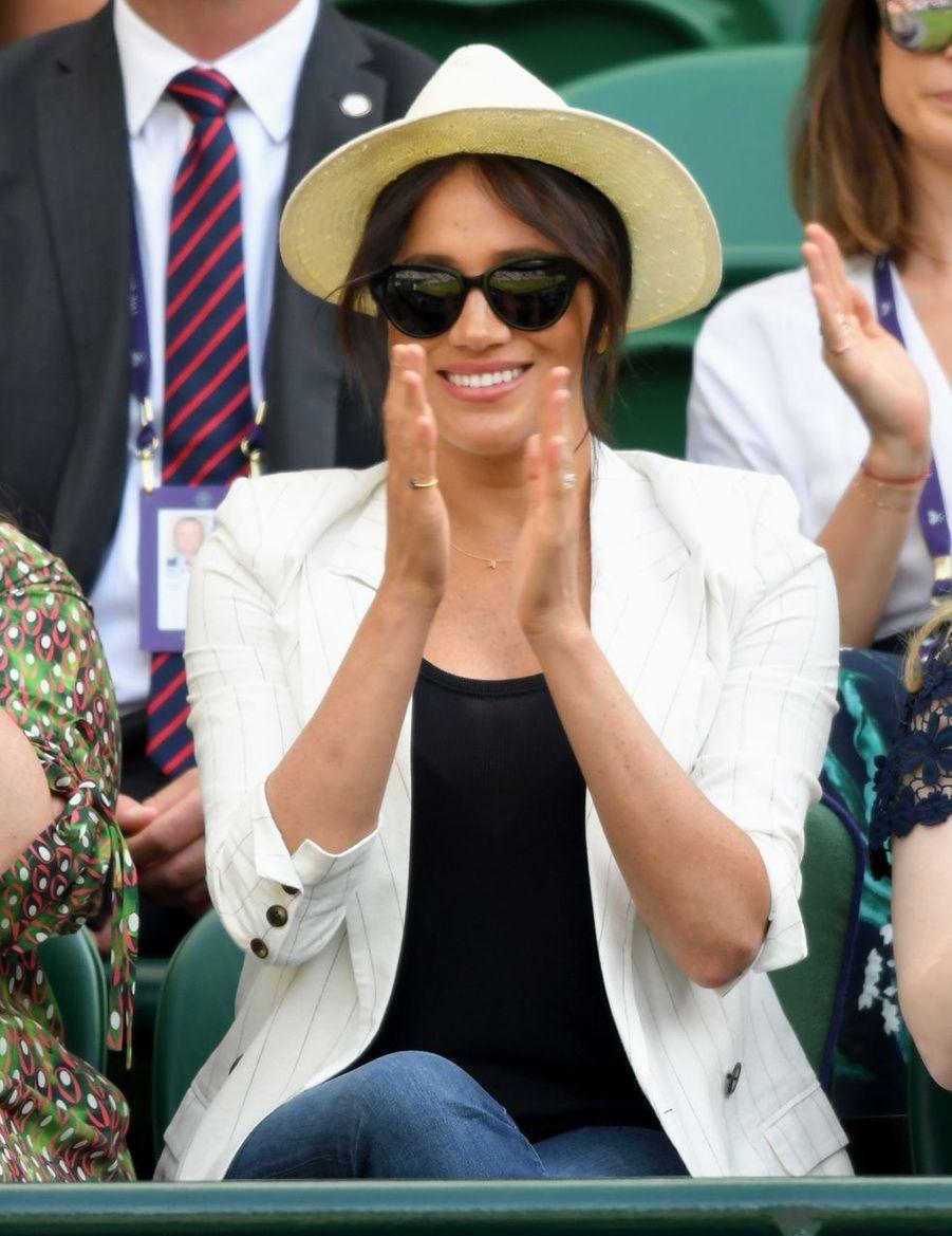 Meghan Markleà Wimbledon le 4 juillet 2019
