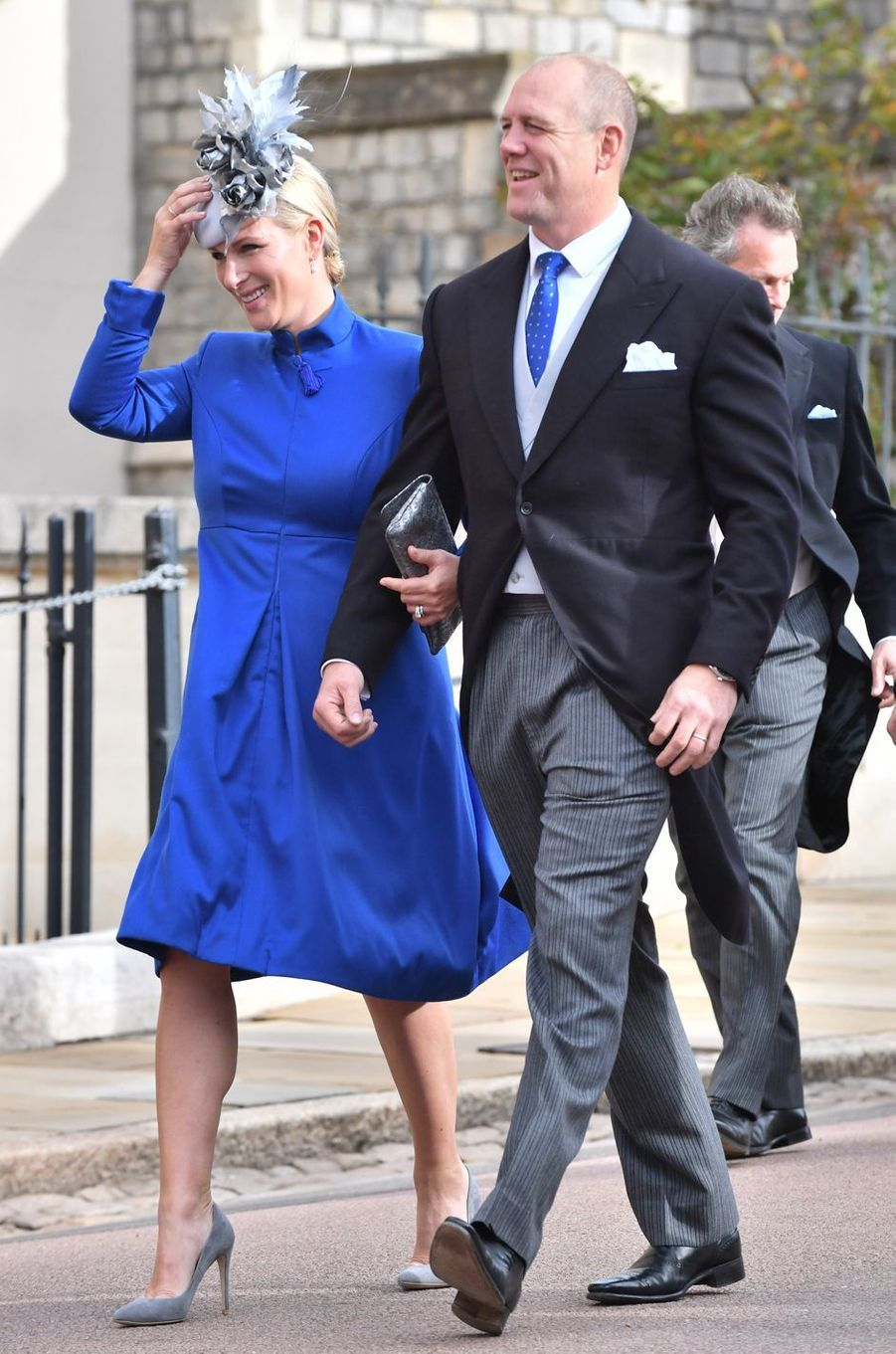 Zara Phillips-Tindall à Windsor, le 12 octobre 2018
