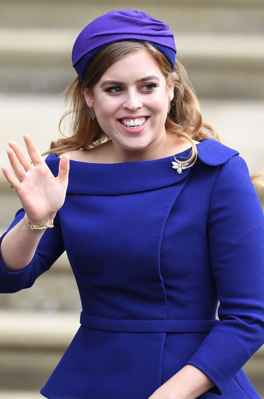 La princesse Beatrice d'York à Windsor, le 12 octobre 2018