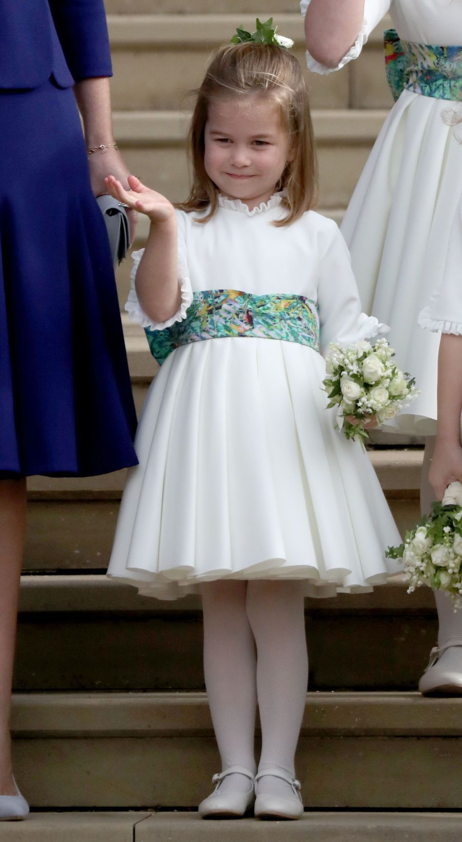 La princesse Charlotte de Cambridge à Windsor, le 12 octobre 2018