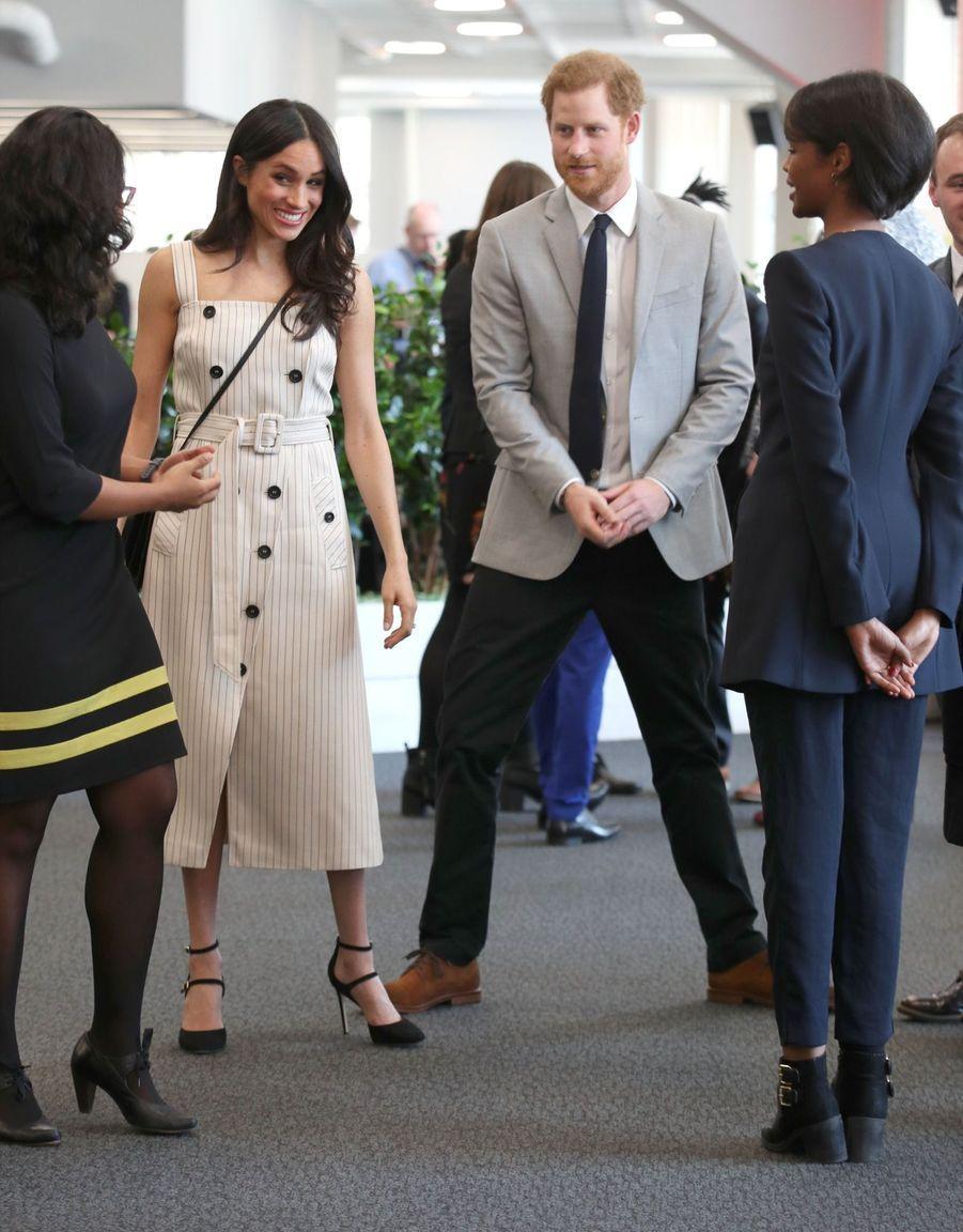 Meghan Markle Et Le Prince Harry Au Forum De La Jeunesse Du Commonwealth 11