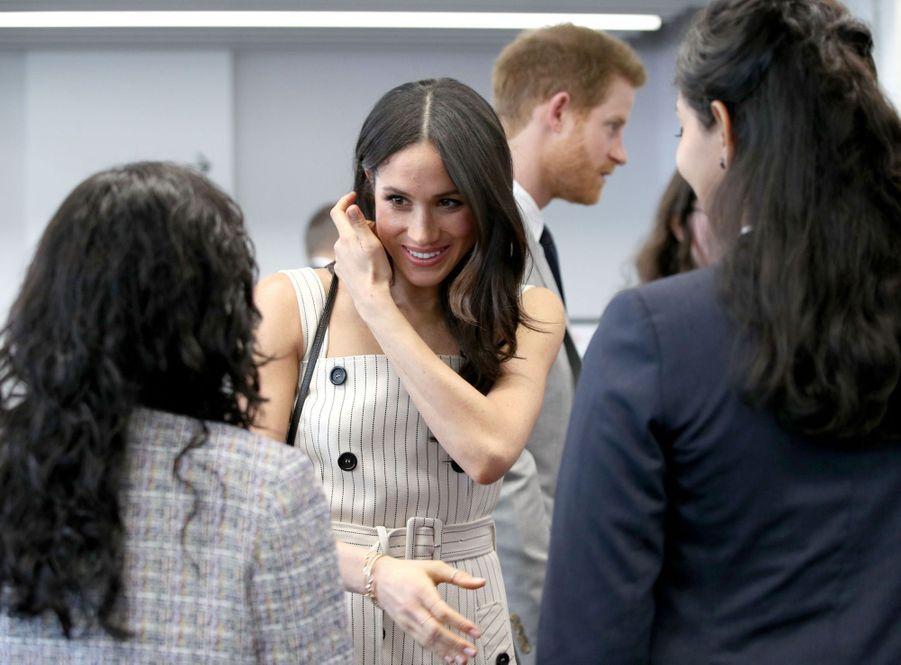 Meghan Markle Et Le Prince Harry Au Forum De La Jeunesse Du Commonwealth 14