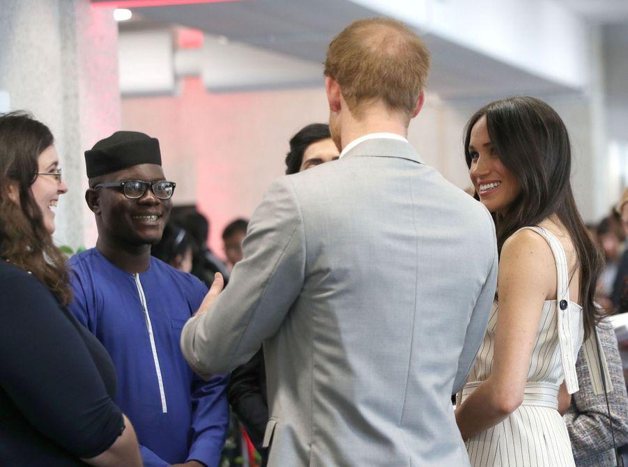 Meghan Markle Et Le Prince Harry Au Forum De La Jeunesse Du Commonwealth 15
