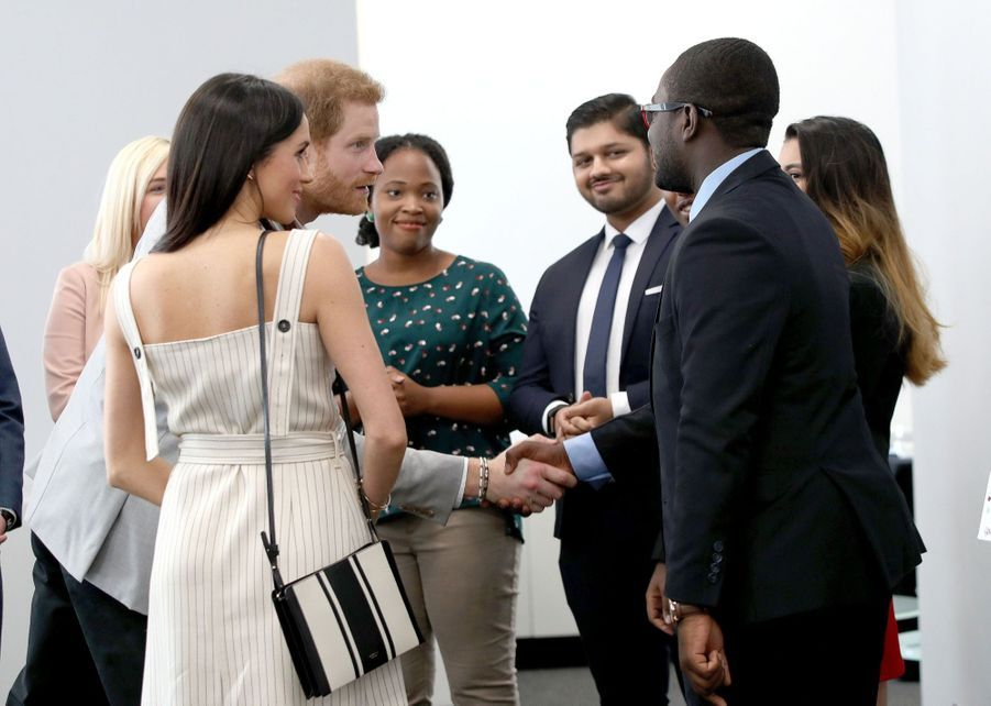Meghan Markle Et Le Prince Harry Au Forum De La Jeunesse Du Commonwealth 18