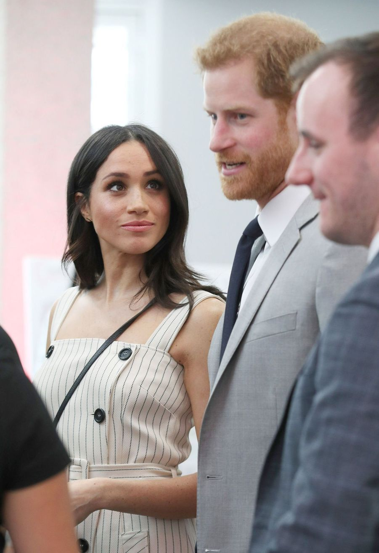Meghan Markle Et Le Prince Harry Au Forum De La Jeunesse Du Commonwealth 26