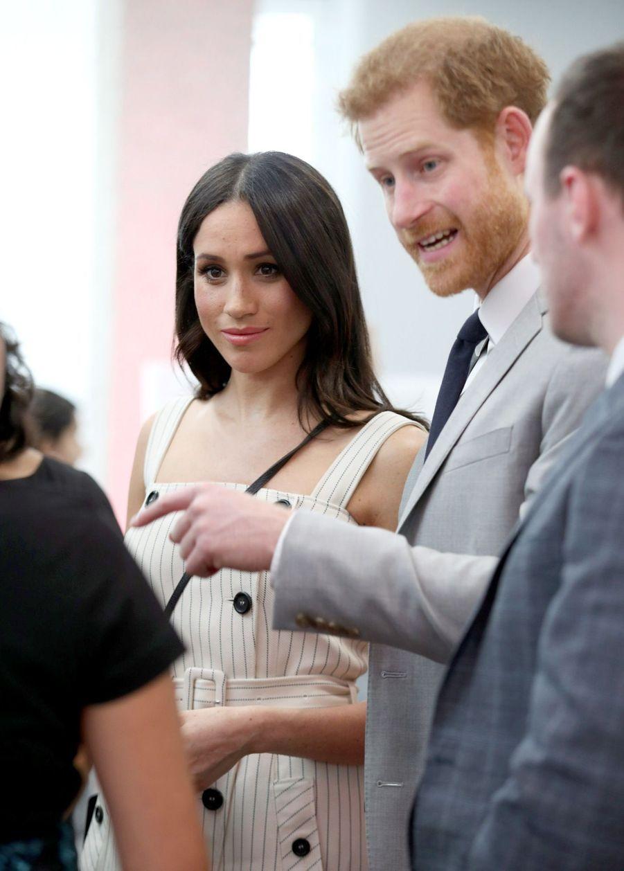 Meghan Markle Et Le Prince Harry Au Forum De La Jeunesse Du Commonwealth 27