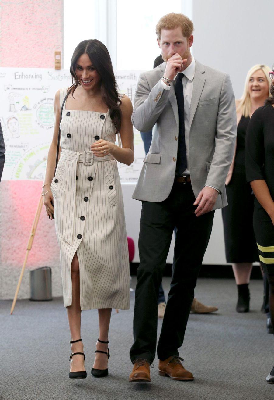 Meghan Markle Et Le Prince Harry Au Forum De La Jeunesse Du Commonwealth 28
