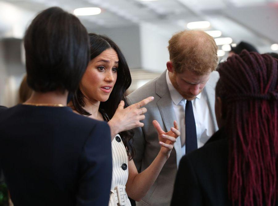 Meghan Markle Et Le Prince Harry Au Forum De La Jeunesse Du Commonwealth 4