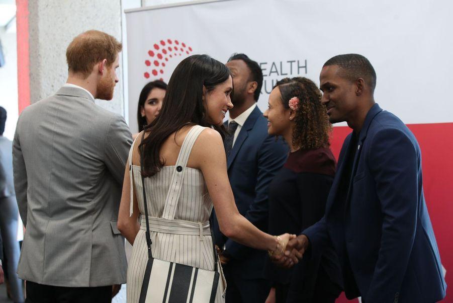Meghan Markle Et Le Prince Harry Au Forum De La Jeunesse Du Commonwealth 5