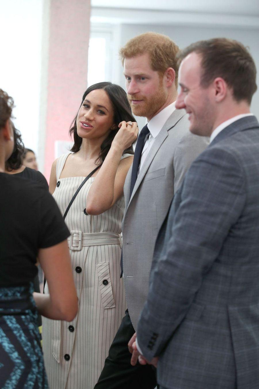 Meghan Markle Et Le Prince Harry Au Forum De La Jeunesse Du Commonwealth 6