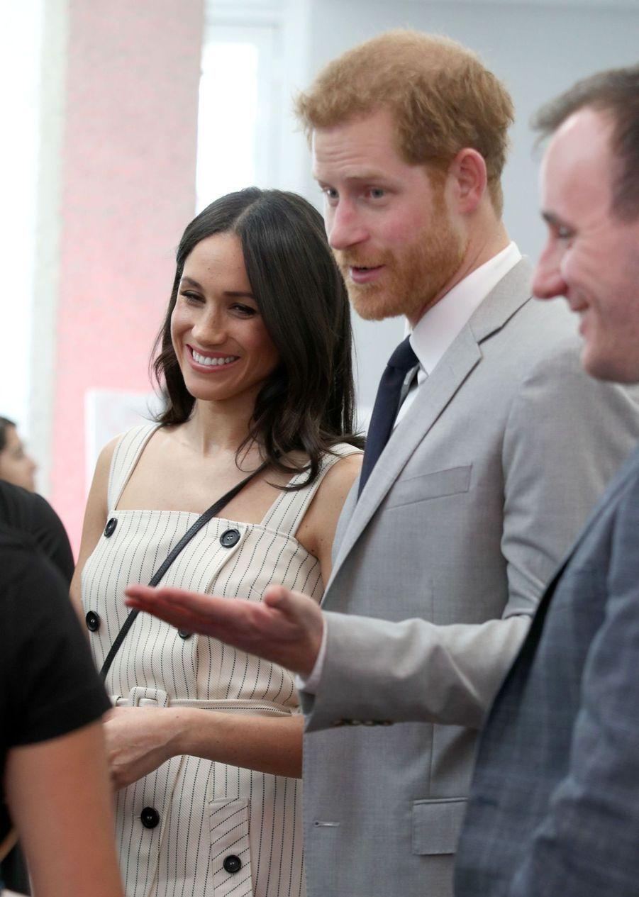 Meghan Markle Et Le Prince Harry Au Forum De La Jeunesse Du Commonwealth 7