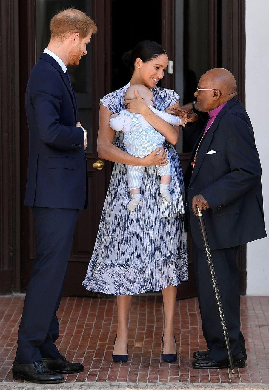 Meghan Markle à Cape Town le 23 septembre 2019 lors son voyage en Afrique avec le prince Harry.