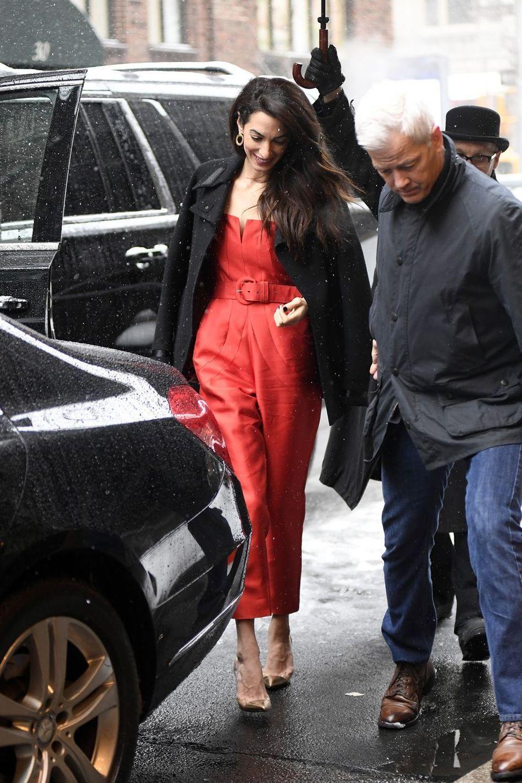 Amal Clooney à New York le 20 février 2019
