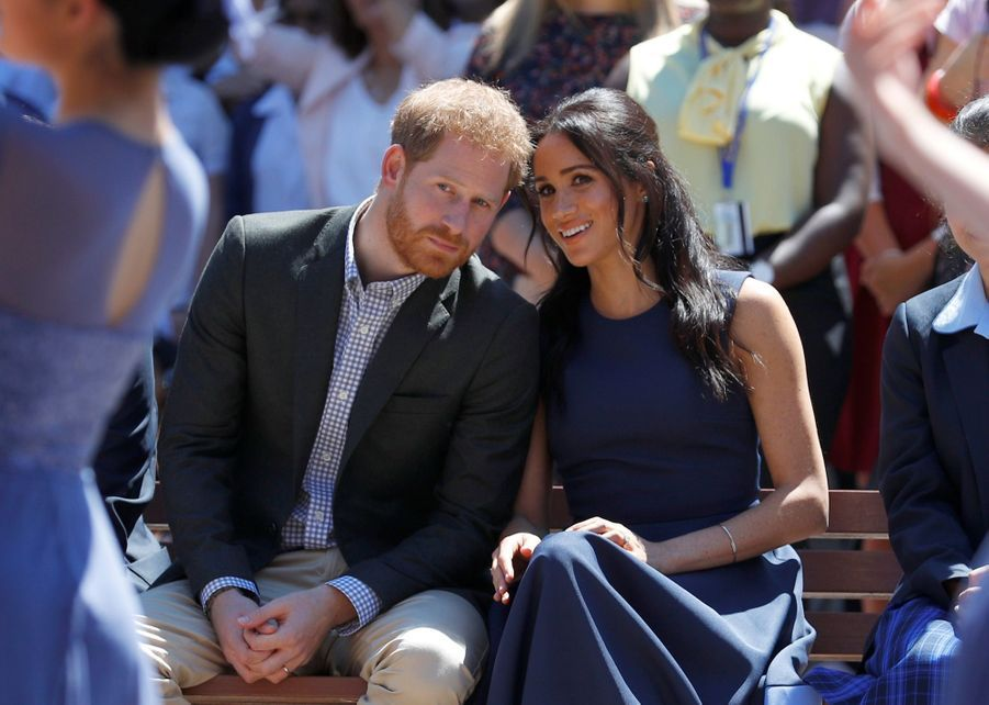 Meghan Et Harry À La Macarthur Girls High School De Sydney ( 1