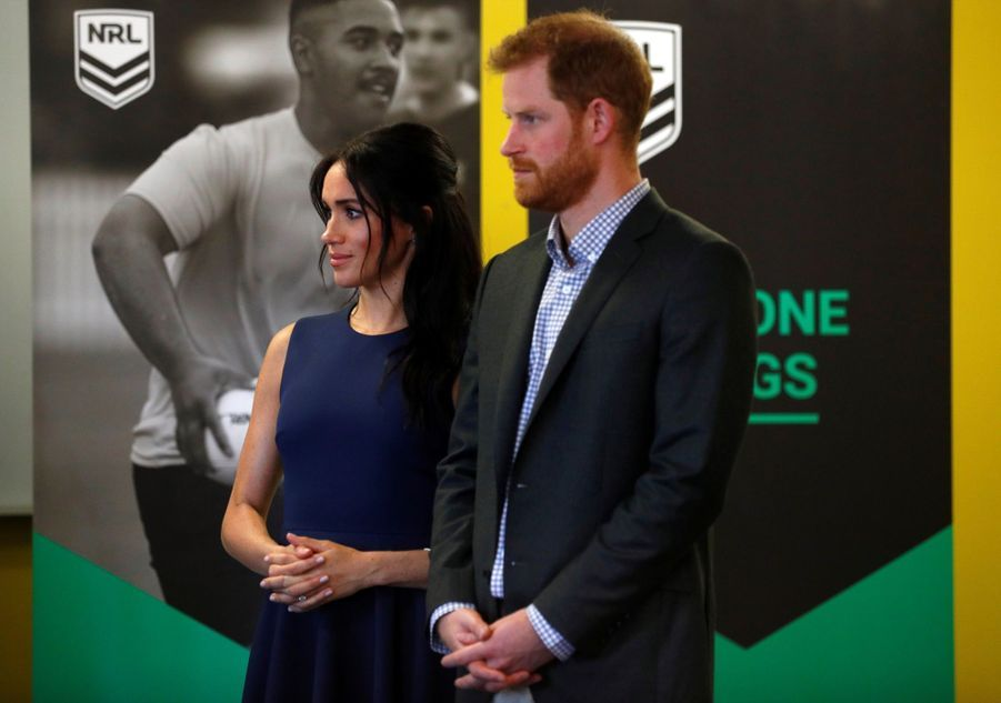 Meghan Et Harry À La Macarthur Girls High School De Sydney ( 4