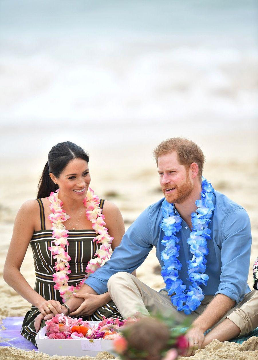 Meghan Et Harry Sur La Plage De Bondi, À Sydney ( 9