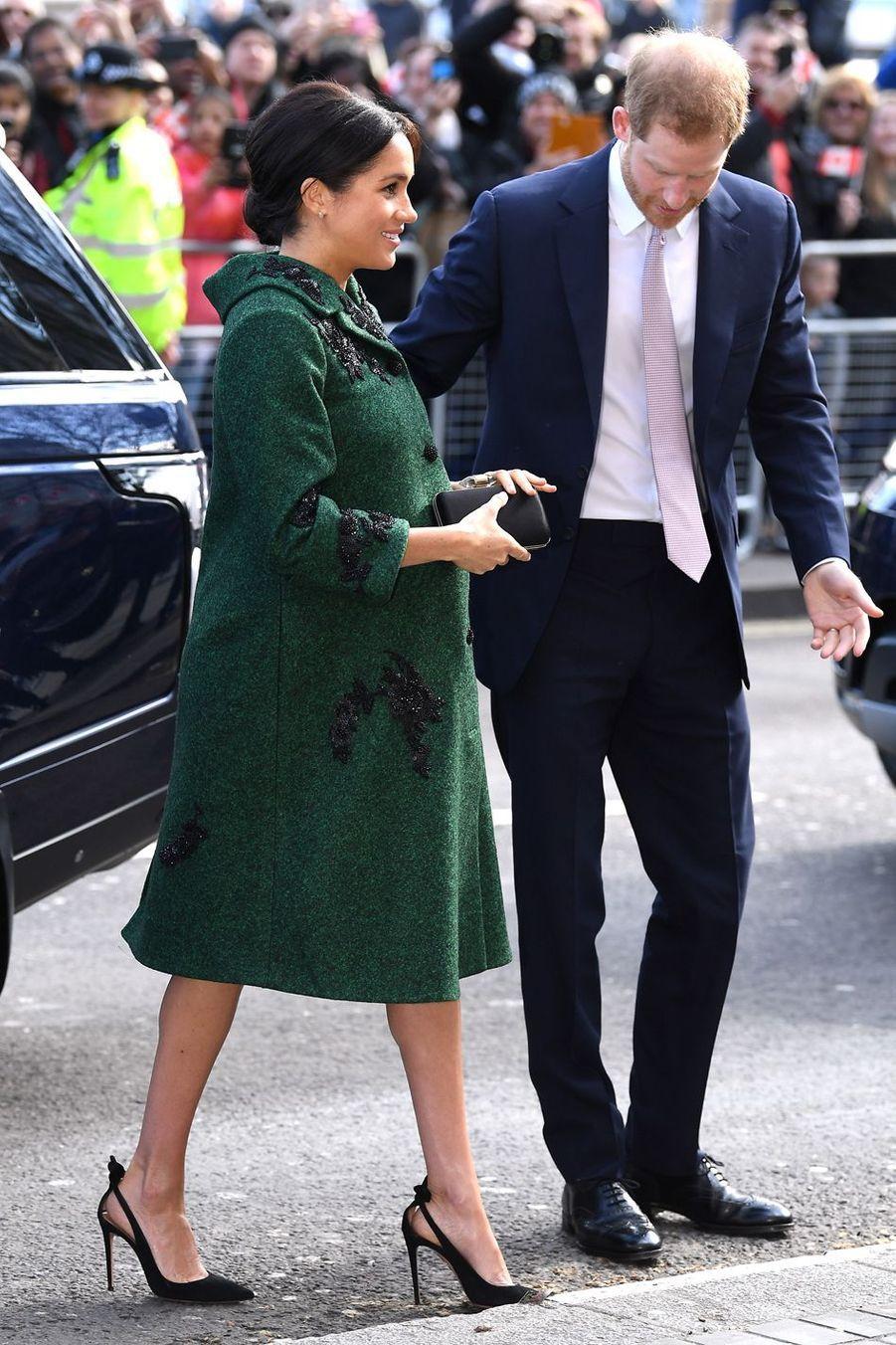 Meghan Markle et le prince Harry à Londres le 11 mars 2019