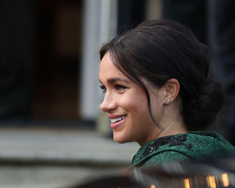 Meghan Markle à Londres le 11 mars 2019