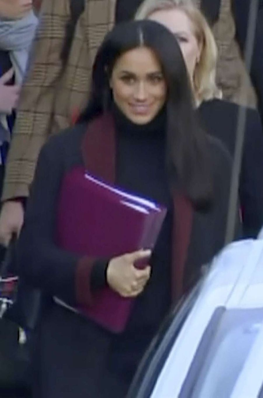 Meghan Markle lors de son arrivée en Australie, le 15 octobre 2018