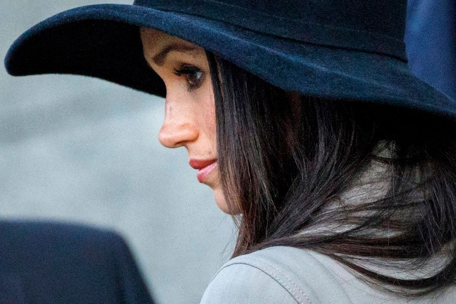 Meghan Markle à Londres, le 25 avril 2018