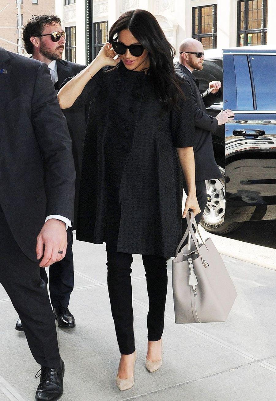 Meghan Markle à New York le 19 février 2019