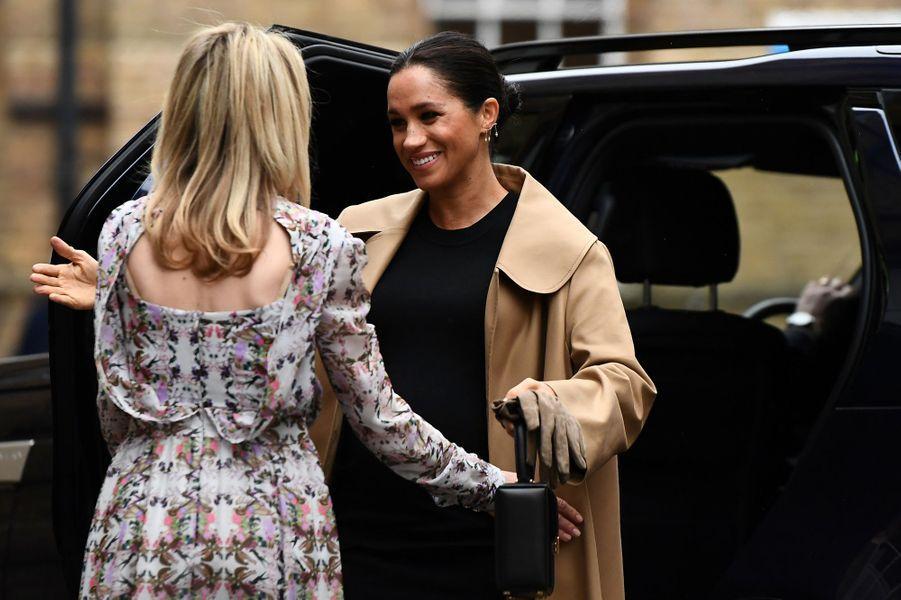 La duchesse de Sussex Meghan, à Londres le 10 janvier 2019