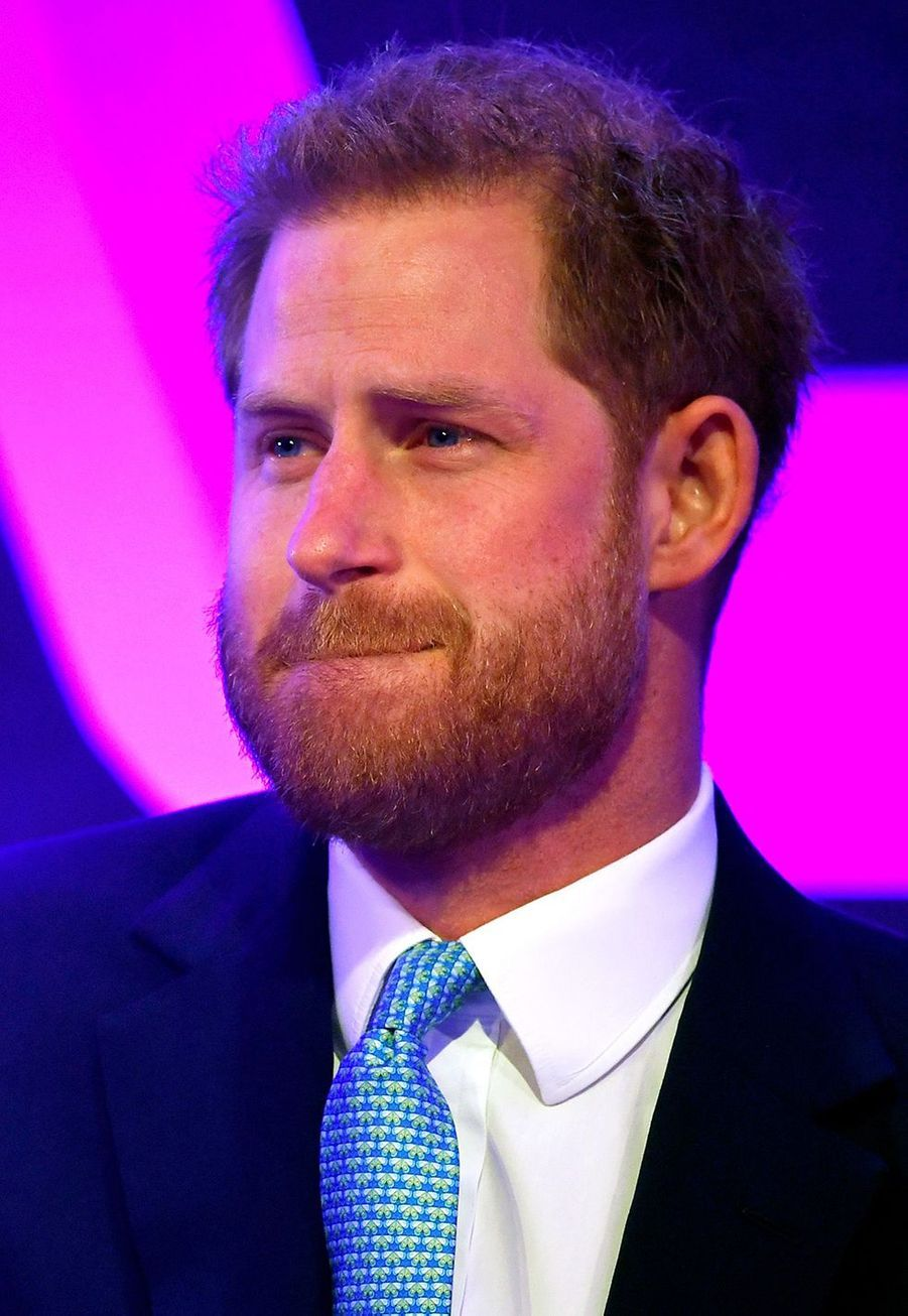 Le prince Harry aux WellChild Awards au Royal Lancaster Hotel à Londres le 15 octobre 2019