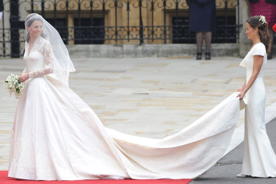 Pippa Middleton Au Mariage De Sa Soeur Kate Middleton Avec Le Prince William, Le 29 Avril 2011 À Londres 11