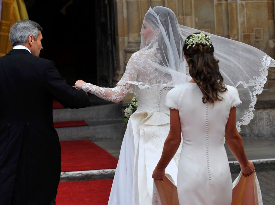 Pippa Middleton Au Mariage De Sa Soeur Kate Middleton Avec Le Prince William, Le 29 Avril 2011 À Londres 12