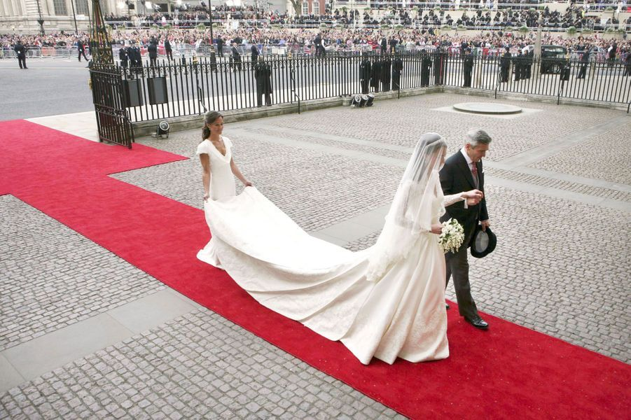 Pippa Middleton Au Mariage De Sa Soeur Kate Middleton Avec Le Prince William, Le 29 Avril 2011 À Londres 13