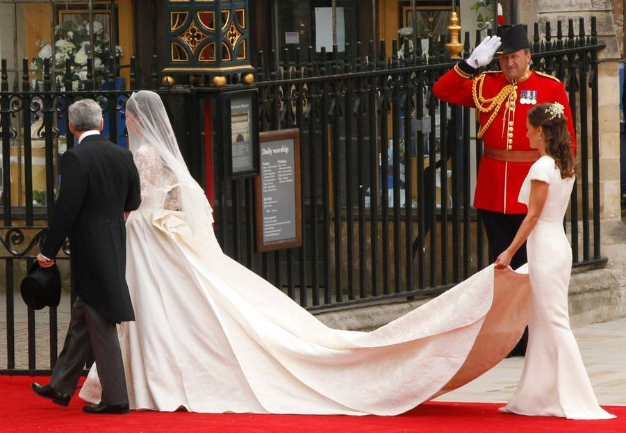 Pippa Middleton Au Mariage De Sa Soeur Kate Middleton Avec Le Prince William, Le 29 Avril 2011 À Londres 14