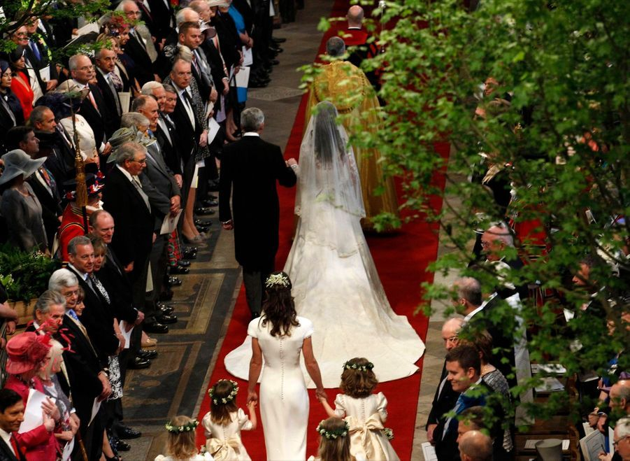 Pippa Middleton Au Mariage De Sa Soeur Kate Middleton Avec Le Prince William, Le 29 Avril 2011 À Londres 20