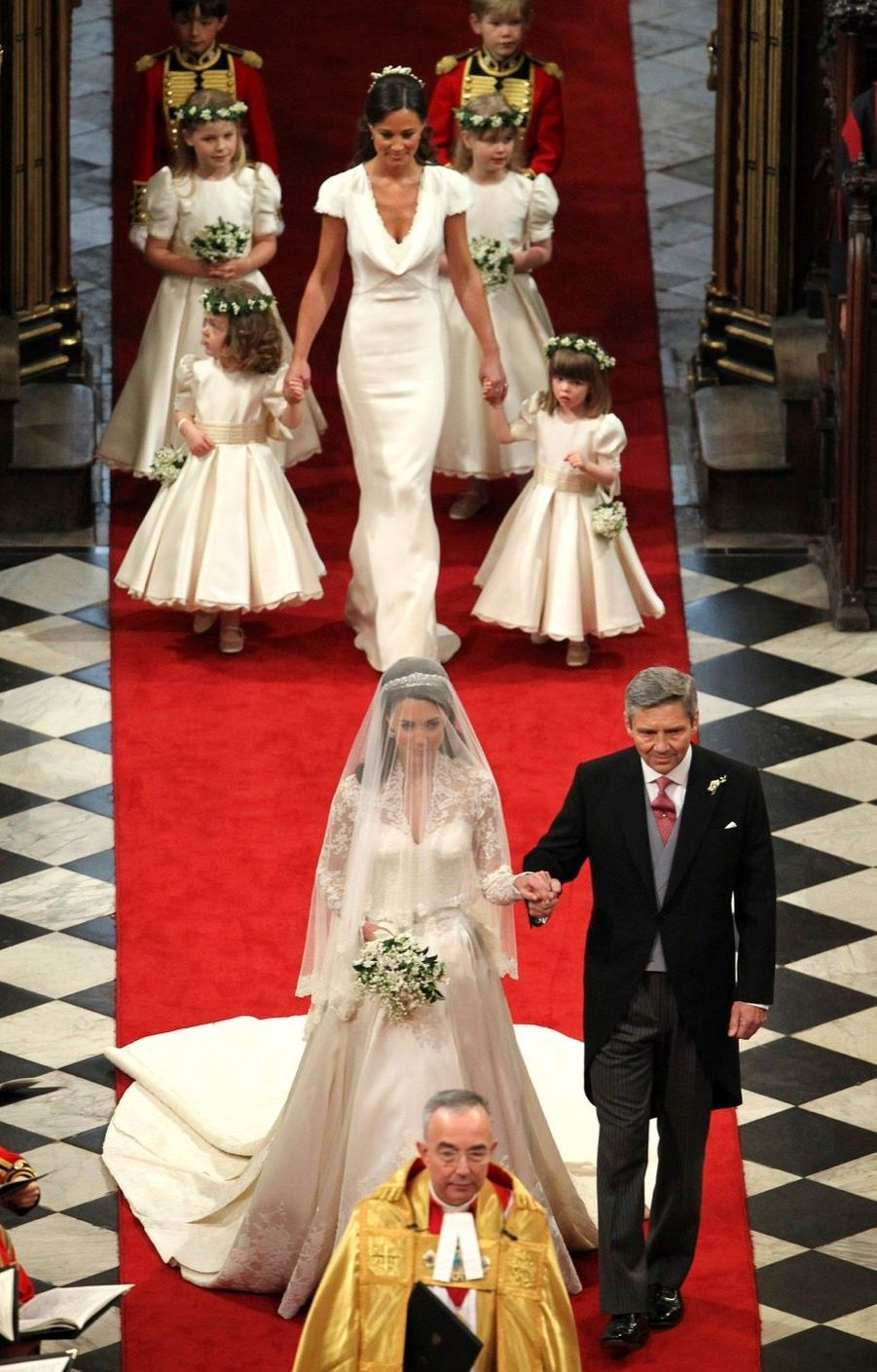Pippa Middleton Au Mariage De Sa Soeur Kate Middleton Avec Le Prince William, Le 29 Avril 2011 À Londres 21
