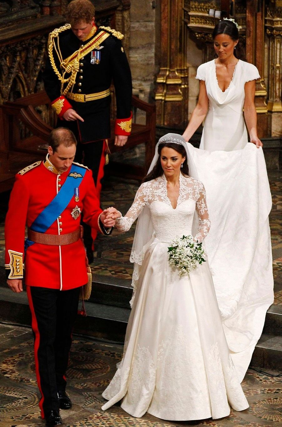 Pippa Middleton Au Mariage De Sa Soeur Kate Middleton Avec Le Prince William, Le 29 Avril 2011 À Londres 24