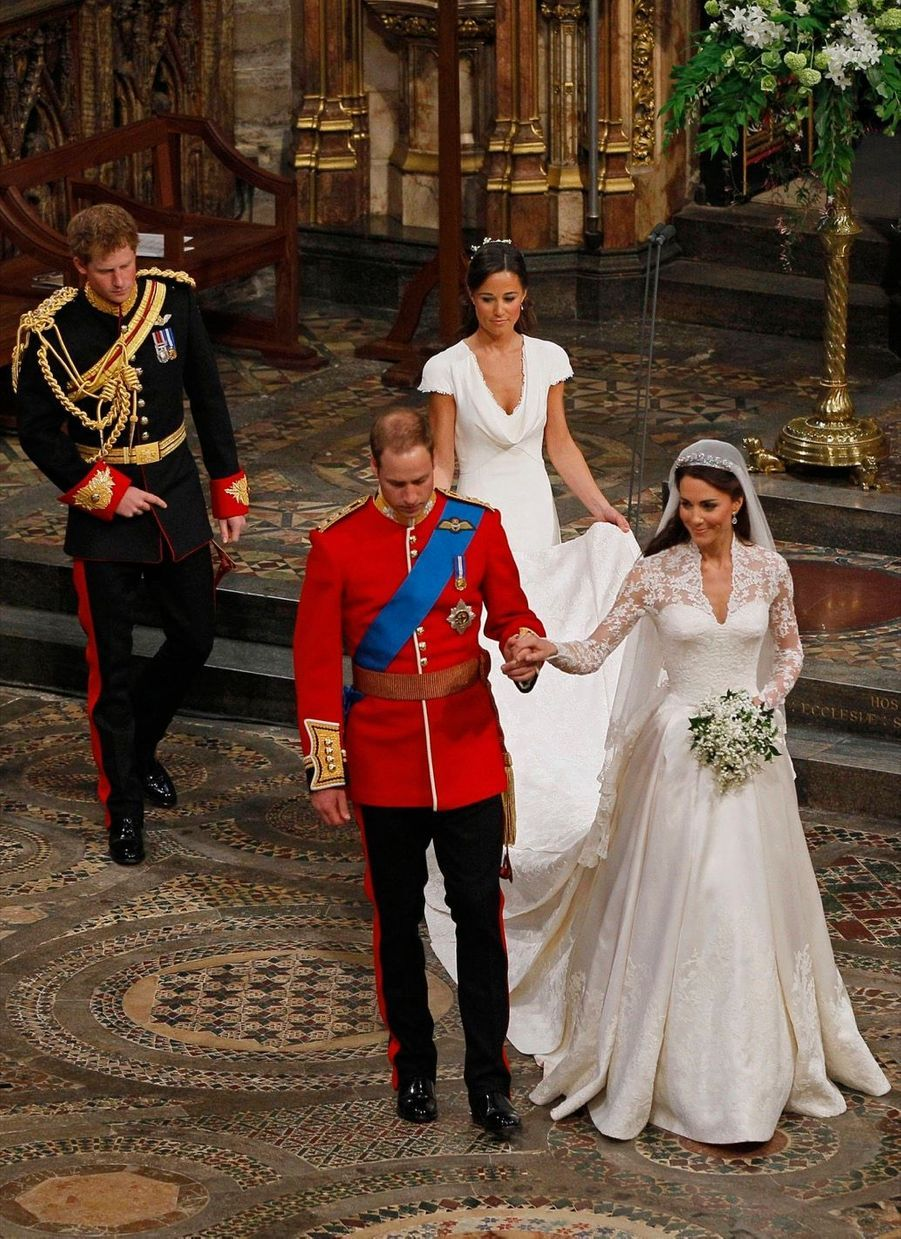 Pippa Middleton Au Mariage De Sa Soeur Kate Middleton Avec Le Prince William, Le 29 Avril 2011 À Londres 25