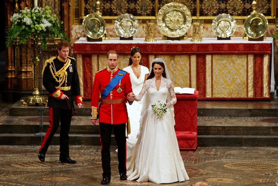 Pippa Middleton Au Mariage De Sa Soeur Kate Middleton Avec Le Prince William, Le 29 Avril 2011 À Londres 26