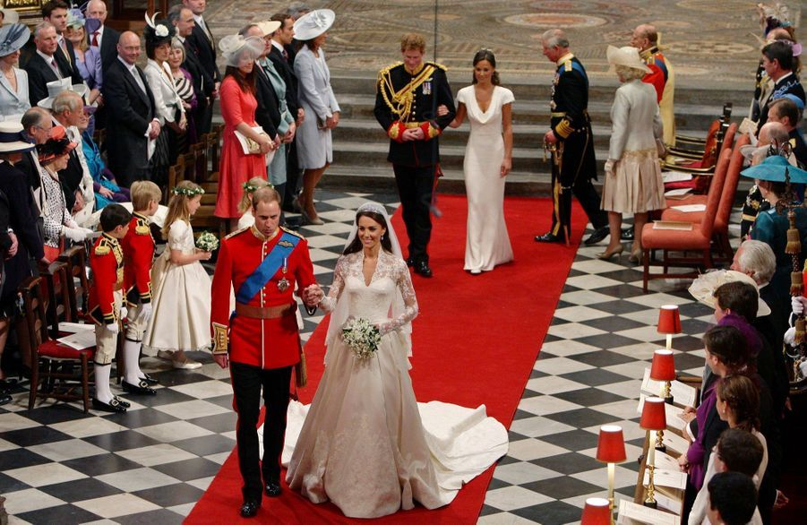 Pippa Middleton Au Mariage De Sa Soeur Kate Middleton Avec Le Prince William, Le 29 Avril 2011 À Londres 28