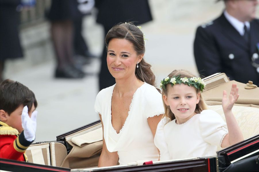 Pippa Middleton Au Mariage De Sa Soeur Kate Middleton Avec Le Prince William, Le 29 Avril 2011 À Londres 29