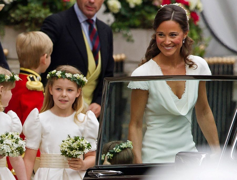 Pippa Middleton Au Mariage De Sa Soeur Kate Middleton Avec Le Prince William, Le 29 Avril 2011 À Londres 3
