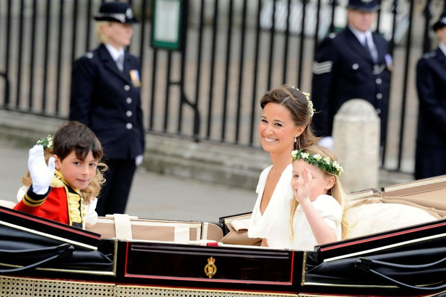 Pippa Middleton Au Mariage De Sa Soeur Kate Middleton Avec Le Prince William, Le 29 Avril 2011 À Londres 31