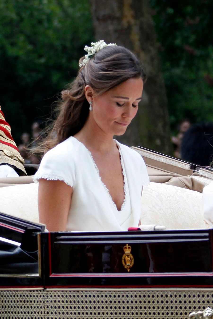 Pippa Middleton Au Mariage De Sa Soeur Kate Middleton Avec Le Prince William, Le 29 Avril 2011 À Londres 32