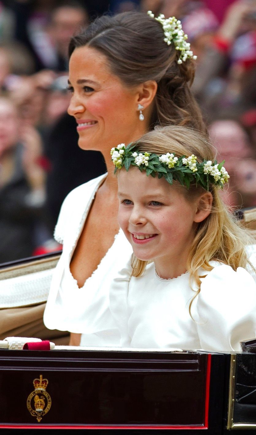 Pippa Middleton Au Mariage De Sa Soeur Kate Middleton Avec Le Prince William, Le 29 Avril 2011 À Londres 33