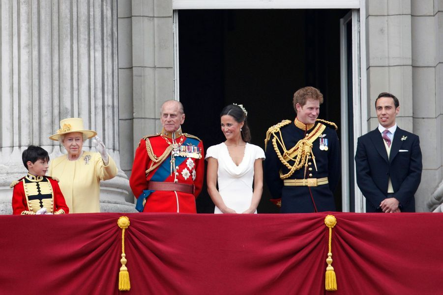 Pippa Middleton Au Mariage De Sa Soeur Kate Middleton Avec Le Prince William, Le 29 Avril 2011 À Londres 35